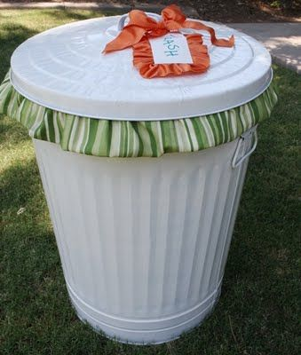 Pinterest Trash Can